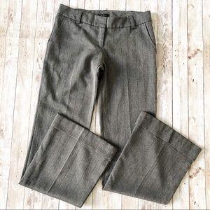 Vintage 90s Forever 21 Gray Flared Dress Pants M